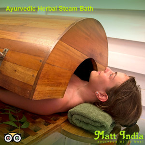Ayurvedic Herbal Steam Bath Good for Health
